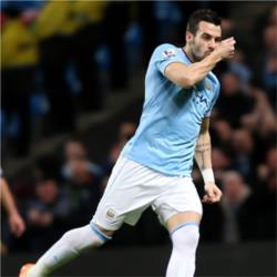 Manchester City 3 Swansea City 0 - match report