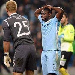 Manchester City 3 Sporting Clube de Portugal 2 - match report