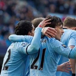 Manchester City 4 Newcastle United 0 - match report
