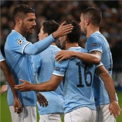 Manchester City 4 Viktoria Plzen 2 - match report