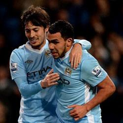 Manchester City 4 West Bromwich Albion 0 - match report