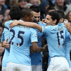 Manchester City 6 Tottenham Hotspur 0 - match report