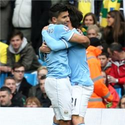 Manchester City 7 (Seven) Norwich City 0 - match report
