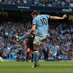 Manchester City 1 West Bromwich Albion 0 - match report