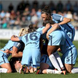 Manchester City Women 2 Chelsea Ladies 0 - Toni Duggan fires Blues to first league title