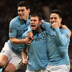Manchester United 1 Manchester City 2 - match report