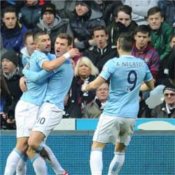 Newcastle United 0 Manchester City 2 - match report