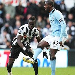 Newcastle United 1 Manchester City 3 - match report