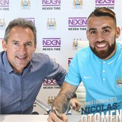 City sign Nicolas Otamendi on a five year contract