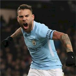 Nicolas Otamendi named as Bluemoon Player of the Month for December 2017