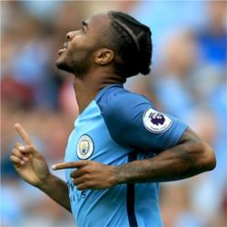 Raheem Sterling named as Bluemoon Player of the Month