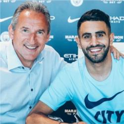 City sign Riyad Mahrez in club record £60m deal