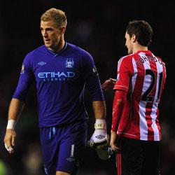Sunderland 1 Manchester City 0 - match report