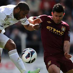 Swansea City 0 Manchester City 0 - match report
