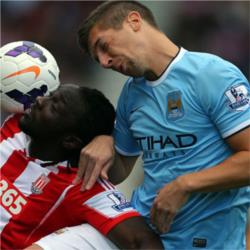 Stoke City 0 Manchester City 0 - match report
