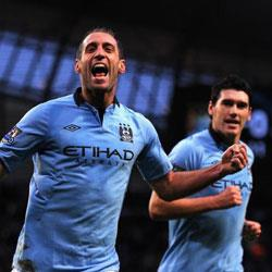 Stoke City 0 Manchester City 1 - match report
