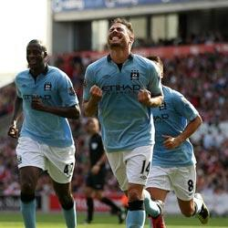 Stoke City 1 Manchester City 1 - match report