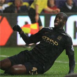 Swansea City 2 Manchester City 3 - match report