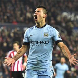 Sunderland 1 Manchester City 4 - match report