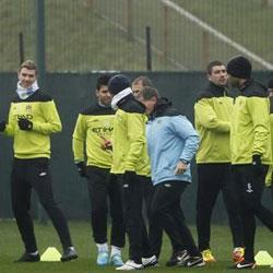 MCFC training report 23/02/2012