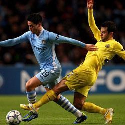 Manchester City 2 Villareal 1