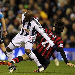 West Bromwich Albion 0 Manchester City 0