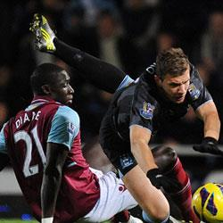 West Ham United 0 Manchester City 0 - match report