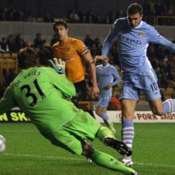 Wolverhampton Wanderers 2 Manchester City 5